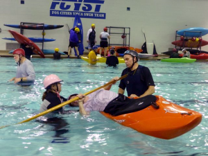 Kayak classes north east wisconsin paddlers for North fond du lac swimming pool